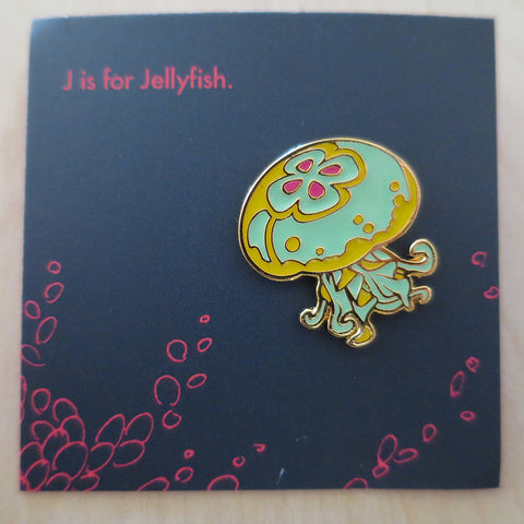 Ocean Spirit: Jellyfish pin