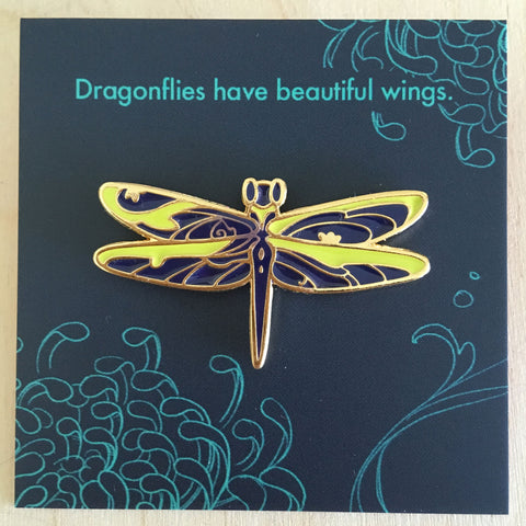 Insect Spirits: Dragonfly Enamel Pin