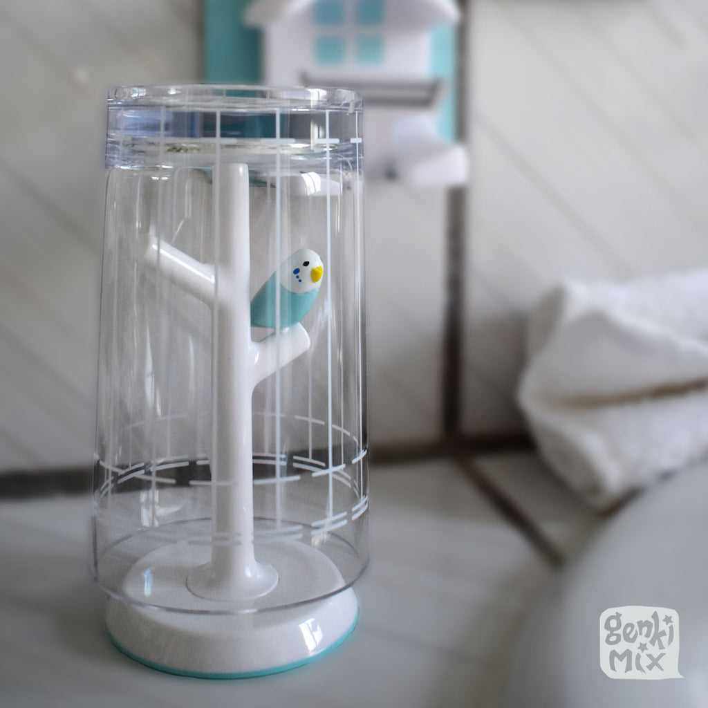Bird Cage Gargling Cup with Stand / Ring Holder (3 variations)