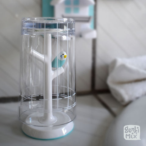 Bird Cage Gargling Cup with Stand / Ring Holder
