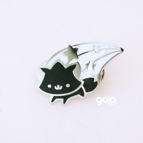 Glitter Birth Stone Kitten Star Pin (June)