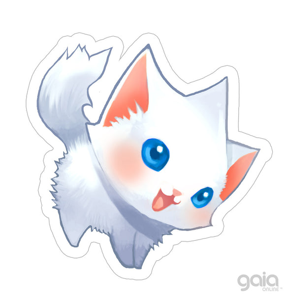 North Kitten Star Vinyl Stickers
