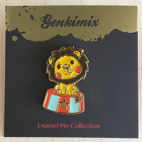 Circus: Brave Little Lion Enamel Pin