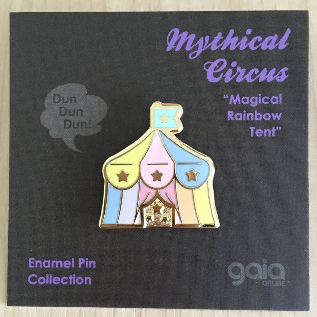 Mythical Circus: Circus Tent Pin