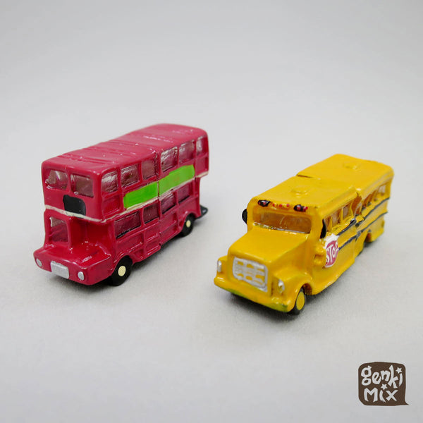 Magnets & Card holder A - Buses