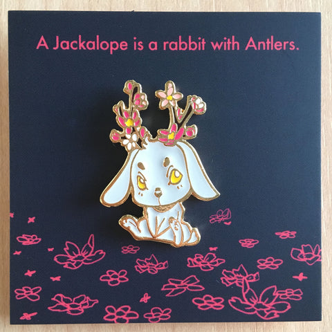 Forest Spirit: Jackalope Pin
