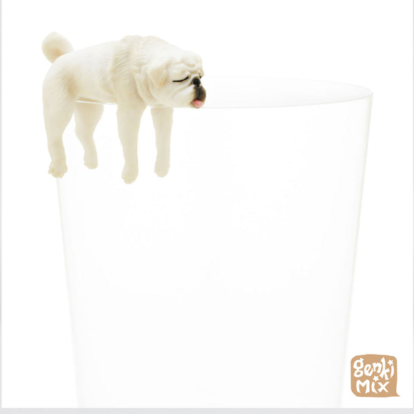 Pug on a glass Blindbox