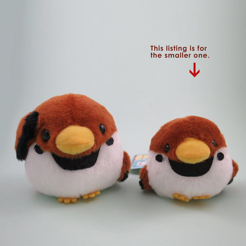 Sparrow Baby Bird Plush (Ball Chain)