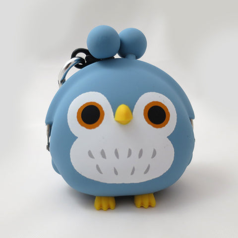 Blue Owl Pochi Coin Purse
