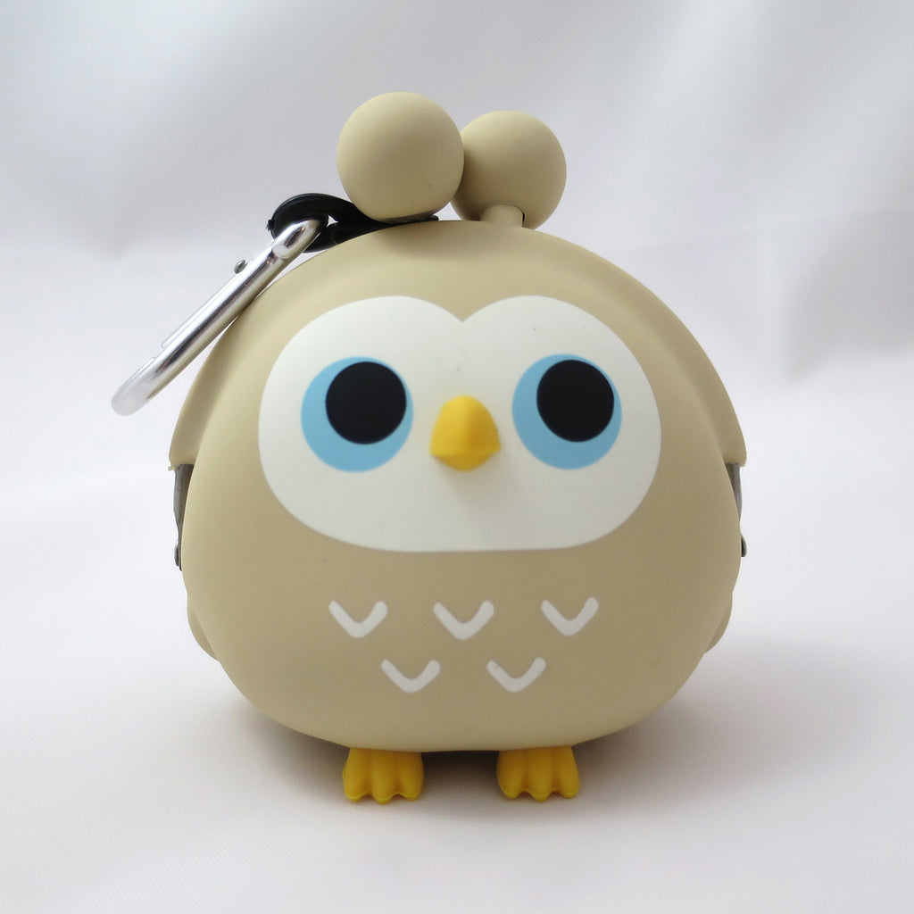 Tan Owl Pochi Coin Purse
