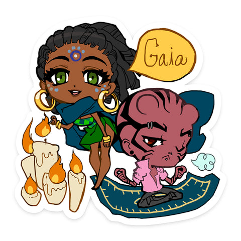 Gaia NPC Sticker 07: Devin and Josie
