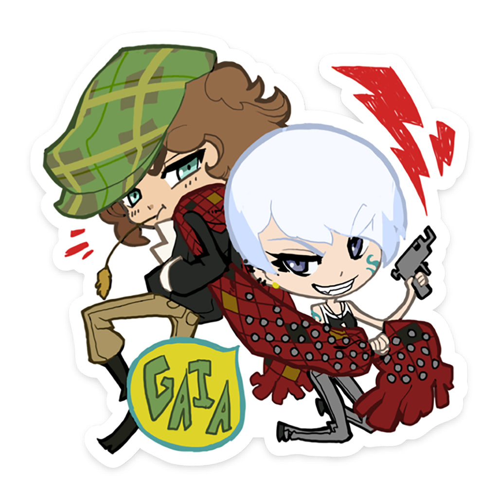Gaia NPC Sticker 06: Nicolae and Natasha