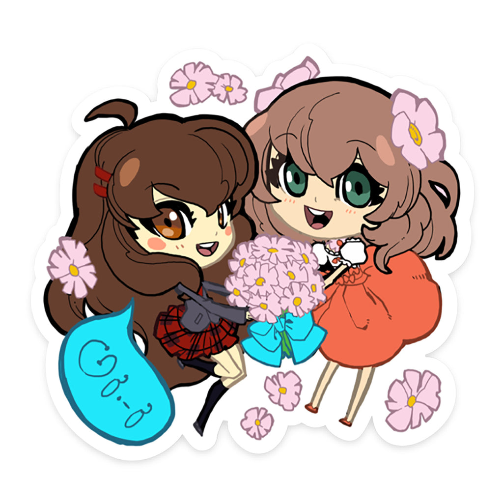 Gaia NPC Sticker 04: Kanoko and Rina