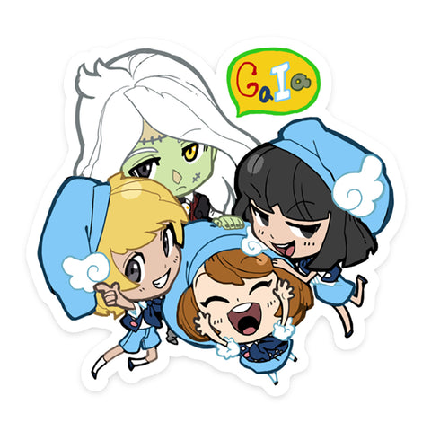 Gaia NPC Sticker 10: Stein and Wing Scouts