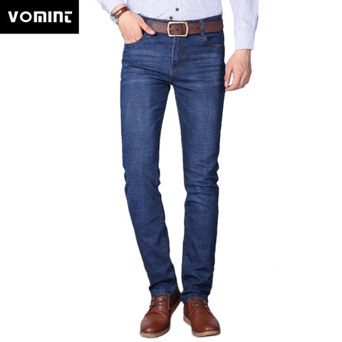 2019 Brand New Men's Jeans Casual Business Jeans Regular Straight Fit Stretch Fabric Jeans Elasticity Denim Trousers Male - Lord's Outdoors