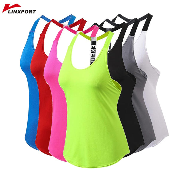 Linxport Women's Fitness Energy Logo Racerback Tank Top - Lord's Outdoors