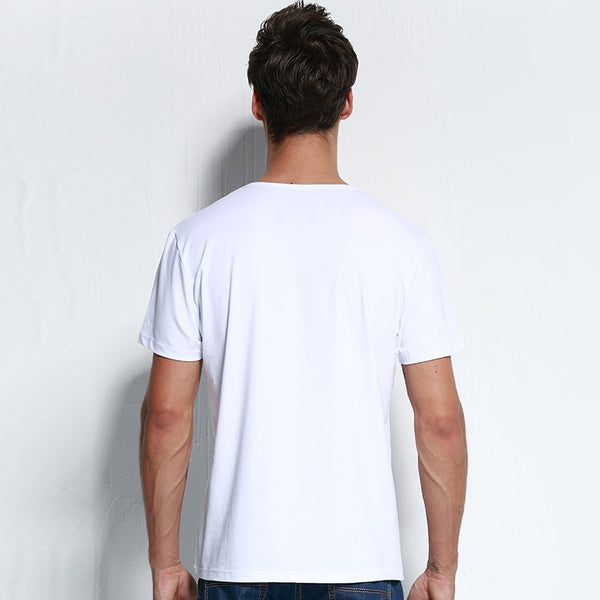 Pioneer Camp New Men's Fashion Elastic Solid Casual Cotton T-Shirt - Lord's Outdoors