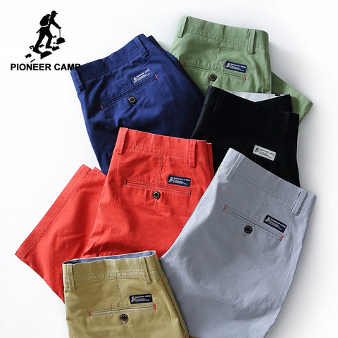Pioneer Camp New summer shorts men brand clothing solid bermuda shorts male top quality stretch slim fit board shorts 655117 - Lord's Outdoors