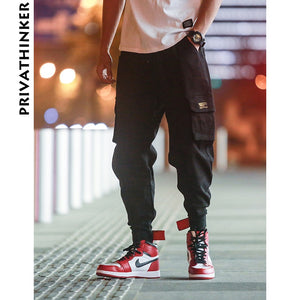 Privathinker Cargo Pants Men 2018 Mens Streetwear Joogers Pants Black Sweatpant Male Hiphop Autumn Pockets Trousers Overalls - Lord's Outdoors