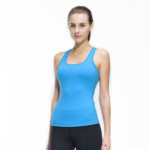 Iyoga Women's Fitted Sleeveless Yoga Tank Top - Lord's Outdoors