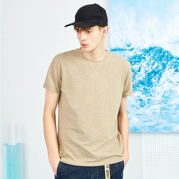 Pioneer Camp New Men's Stylish Top Quality Brand Clothing Solid Soft Thin Summer T-Shirt - Lord's Outdoors