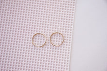 Tiny Helix Hoop Set