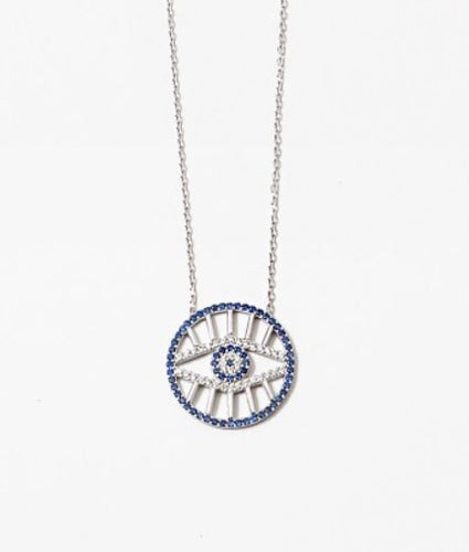Radiant Evil Eye Necklace