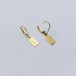 Gold Happy Go Lucky Earring