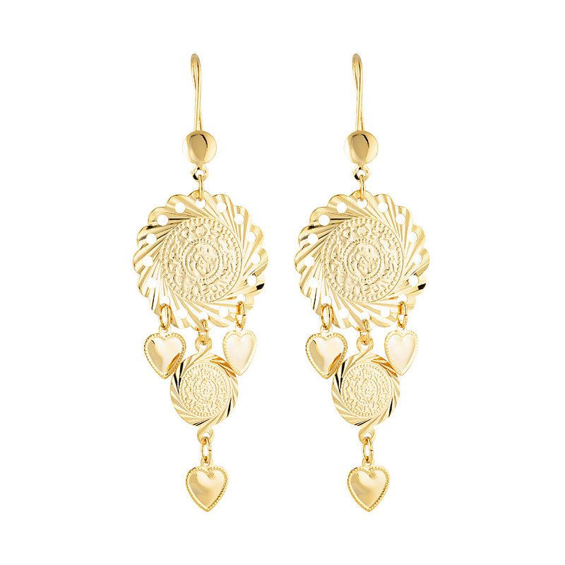 Gypsy Love Chandelier Earring