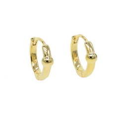 L'Or Orb Huggie Earrings