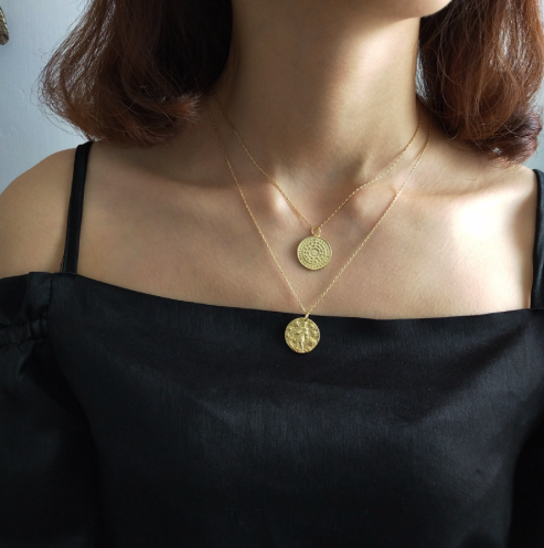 Sign of the Zodiac Gold Pendant