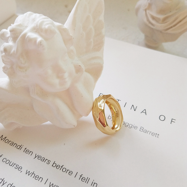 Gold Foilis Ring