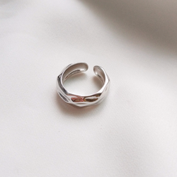 Silver Foilis Ring