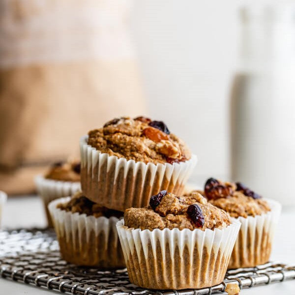 Pro Carrot Cake Muffins
