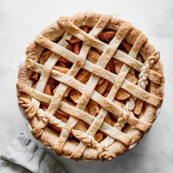 a vegan Apple Pie