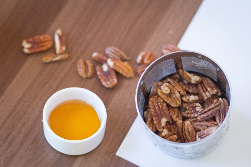 Pecan Milk Almondcow recipe