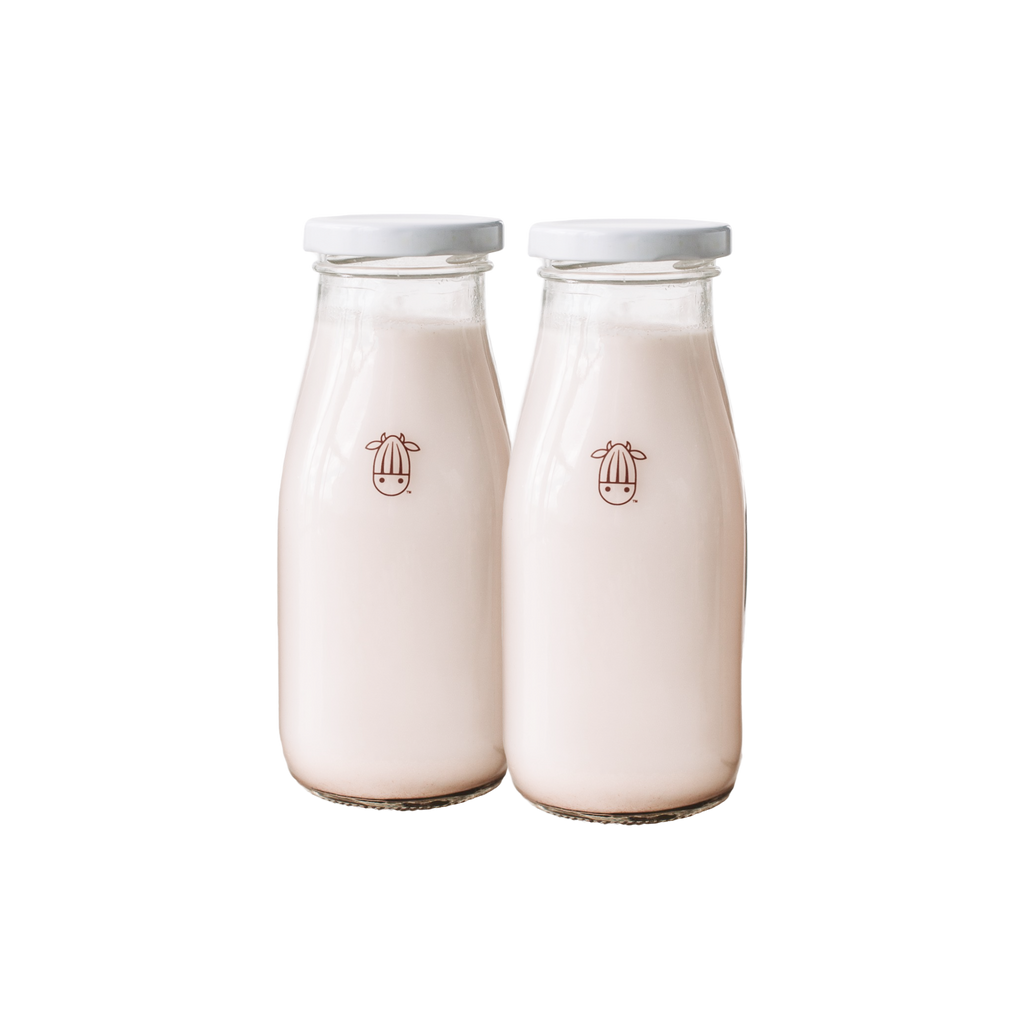 Almond Cow Bottles - Set of 2