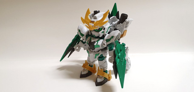 May 2019 Product Review by SUTD Gunpla Club - Zeromaru Shinkikessho