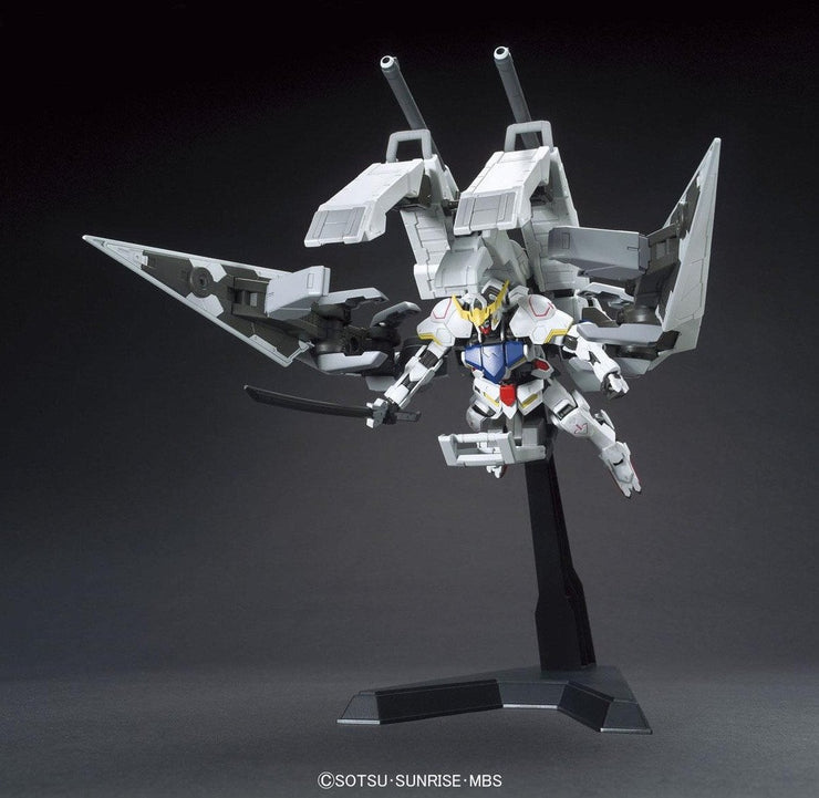 HG 1/144 GUNDAM BARBATOS & LONG DISTANCE TRANSPORT BOOSTER