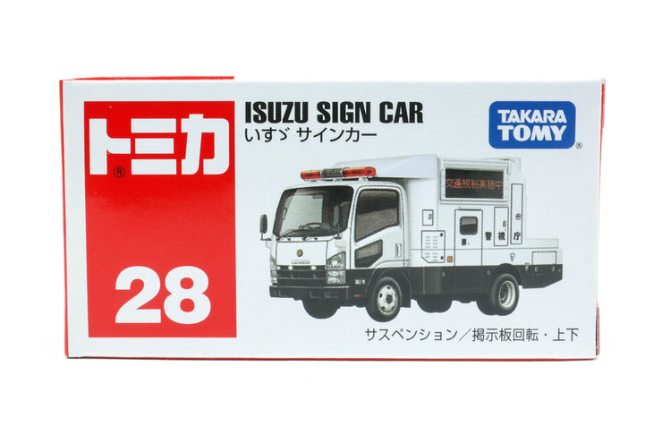 799351 Isuzu Sign Car