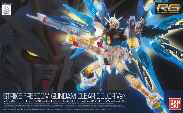 Rg Strike Freedom Color Clear Ver