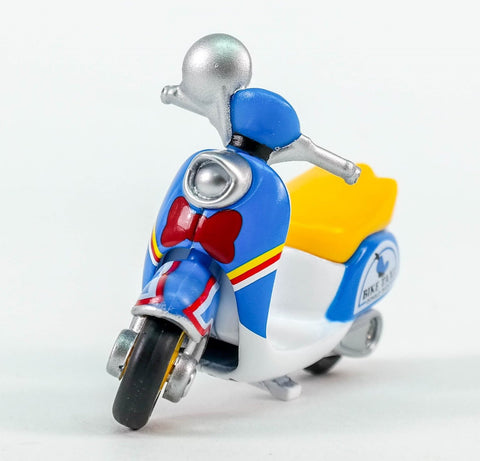 TOMICA DISNEY MOTORS CHIMCHIM BIKE TAXI DONALD DUCK ASIA SPECIAL