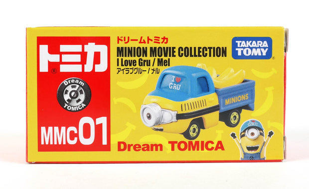 Dream Tomica Minions Collection Cap Mel MMC01