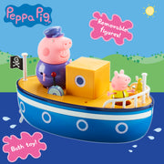 Peppa Pig Boat And Figure Set w/o Crayon