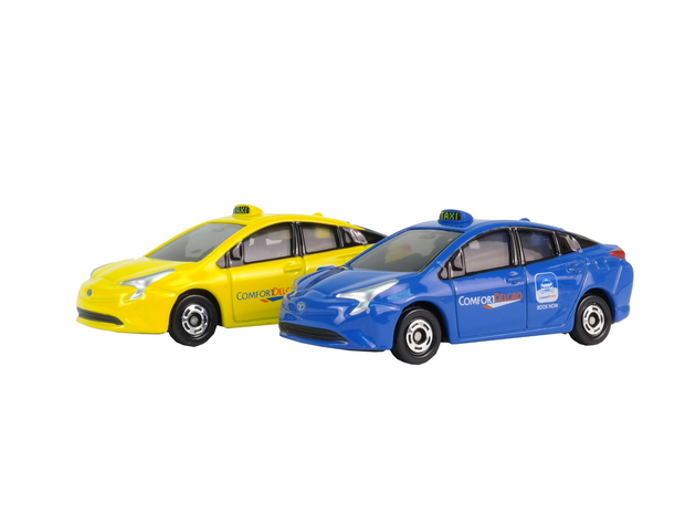 Tomica Toyota Prius Comfort Sg Taxi (Yellow)
