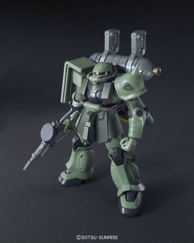 1/144 Hg Zaku II Mass Production Type + Big Gun (Gundam Thunderbolt Anime Color Ver)