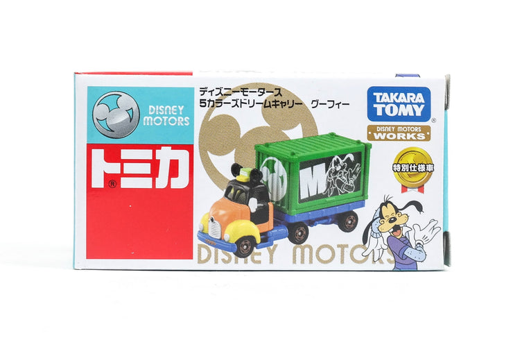 Tomica Disney Motors Dm 5 Colors DreamCarry Goofy