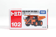 333678 Hitachi Construction Machine Redget Dump Truck