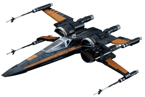 '-2400 STAR WARS 1/72 POE'S X-WING FIGHTER