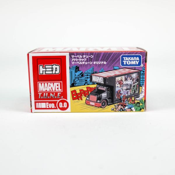 TOMICA MARVEL T.U.N.E AD TRUCK WITH SPECIAL ARTWORK
